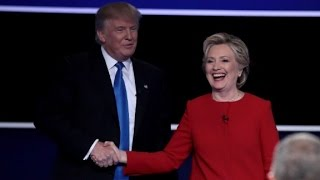 Donald Trump vs Hillary Clinton full Hofstra debate