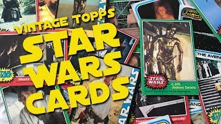 Vintage Topps Star Wars Cards