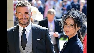 Дэвид и Виктория Бекхэм продают свою одежду со свадьбы принца Гарри и Меган Маркл