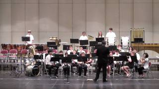 San Mateo High School Spring Concert 2010 - Concert Band - Two Moods - Grundman