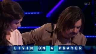 Jamie Meyer ft. Jessica Andersson - Livin' On A Prayer [Så Ska Det Låta, 2012 SVT]