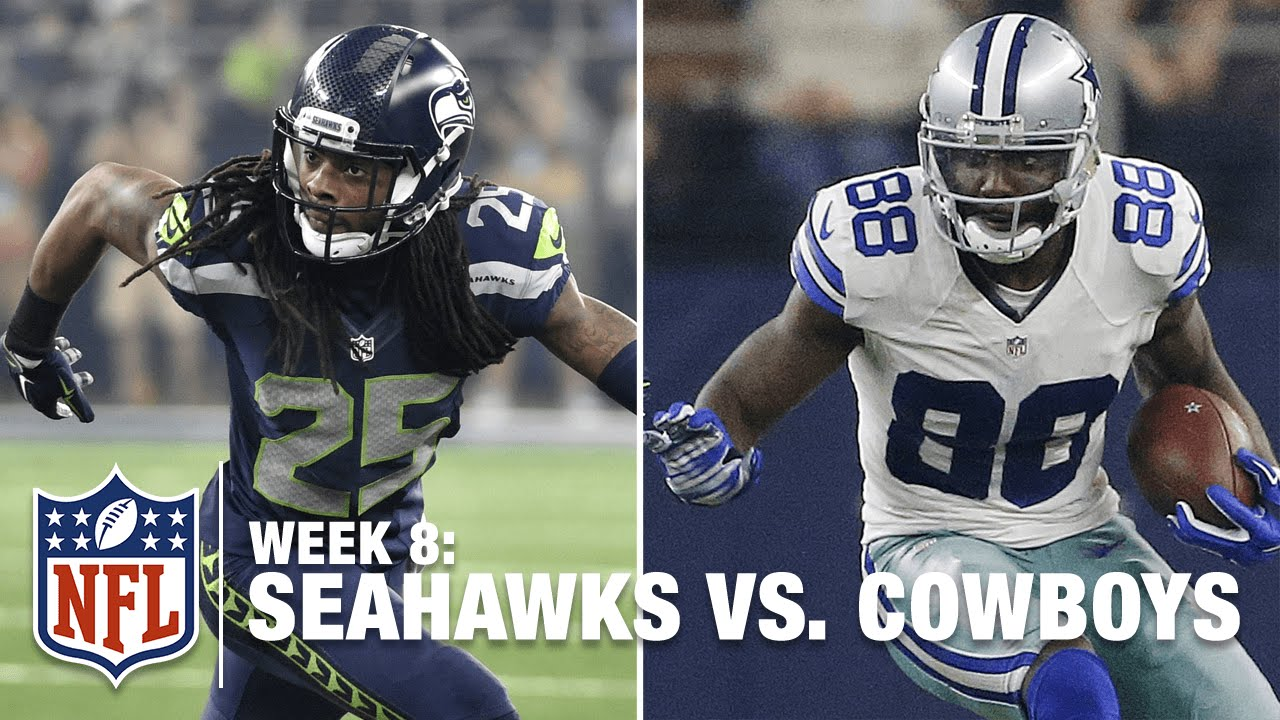 Dez Bryant Vs Richard Sherman Highlights Seahawks Vs Cowboys Nfl