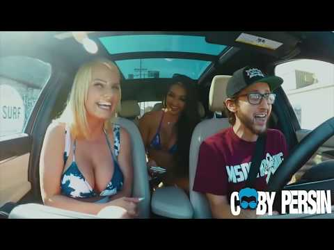 Girls SHOCKED By Rapping Uber Driver!