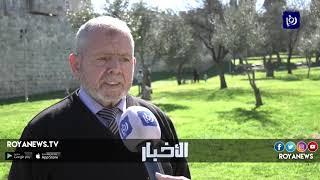 """إرهاب الاحتلال يطال مقبرة مأمن الله """"أقدم المقابر الإسلامية"""" في القدس - (14-2-2019)"""