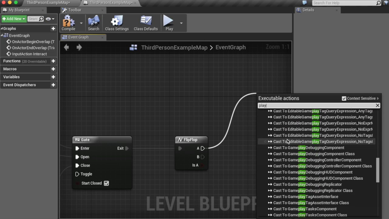 Unreal engine 4 tutorial openclose door blueprint youtube malvernweather Choice Image