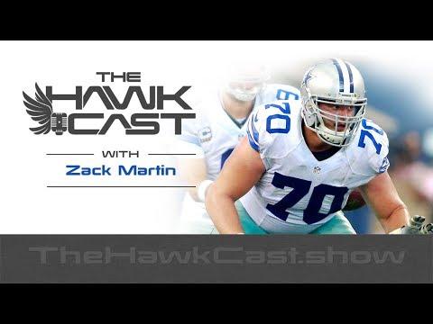 Zack Martin: Cowboys All-Pro Guard talking Team Culture, Dak and Zeke - The HawkCast