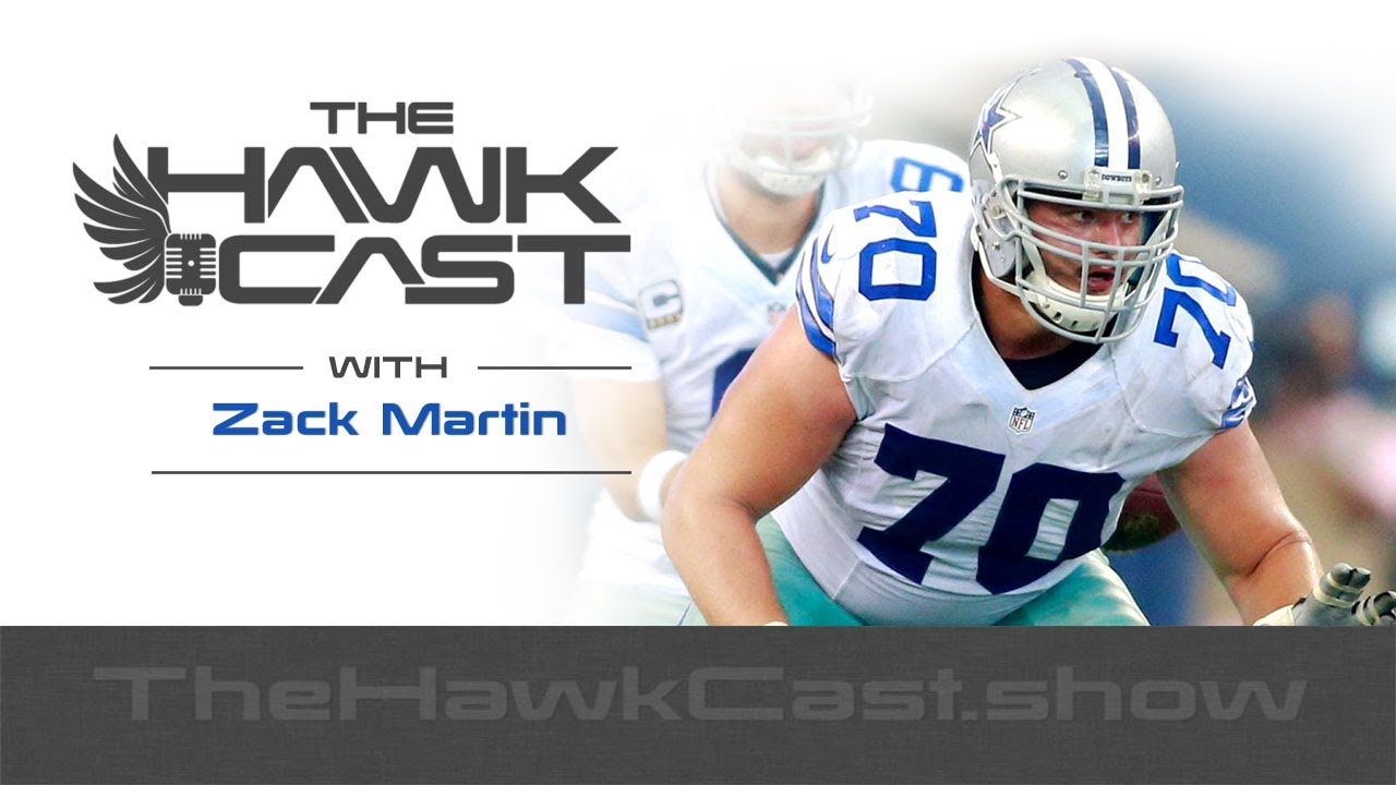 Download Zack Martin: Cowboys All-Pro Guard talking Team Culture, Dak and Zeke - The HawkCast