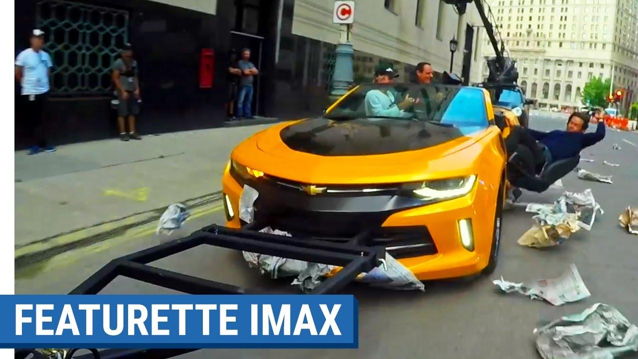 TRANSFORMERS : THE LAST KNIGHT - Featurette IMAX (VOST)