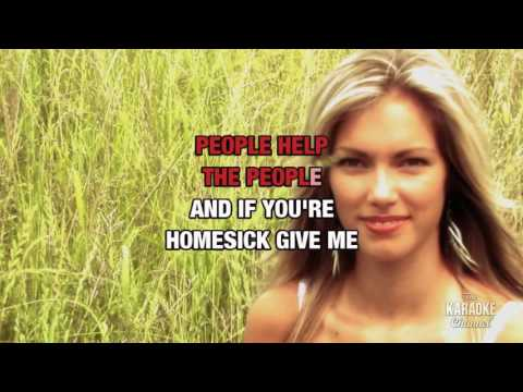 People Help The People in the style of Birdy | Karaoke with Lyrics