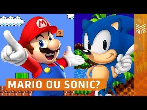 Mario x Sonic: Duelo de Titãs AO VIVO | Enemy Zone