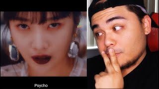 Gambar cover Red Velvet 레드벨벳 'Psycho' MV Reaction | EARLY XMAS GIFT!