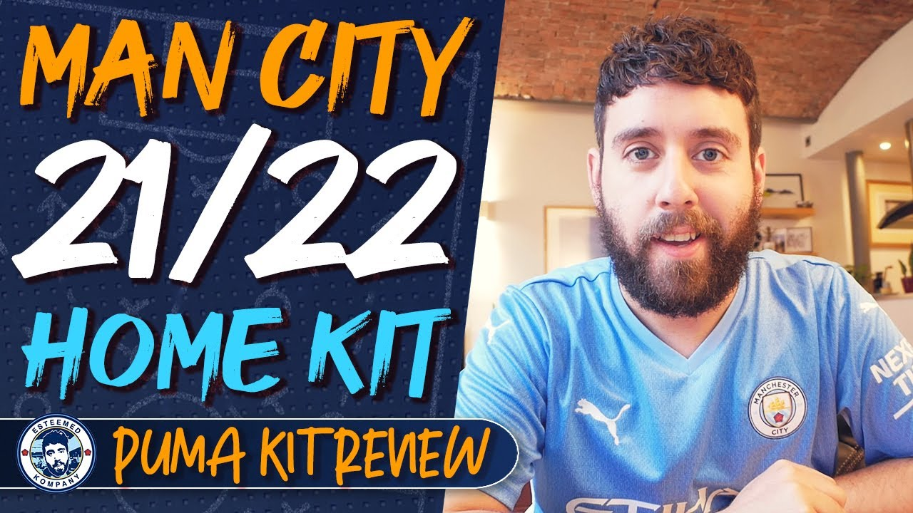 Man City 2021 22 Puma Home Shirt Kit Review Youtube