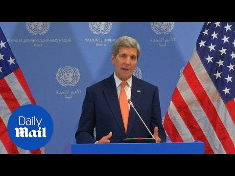 Kerry confirms US sanctions lifted on Iran after 37 years - Daily Mail