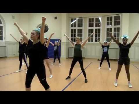 Gong 97.1  | Sabrina, kannst du eigentlich...Cheerleading?