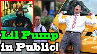 "LIL PUMP - ""Drug Addicts"" x ""Boss"" - SINGING IN PUBLIC!!"