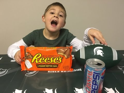 Reese's 1 Pound Peanut Butter Cup Challenge | Vito The Kid