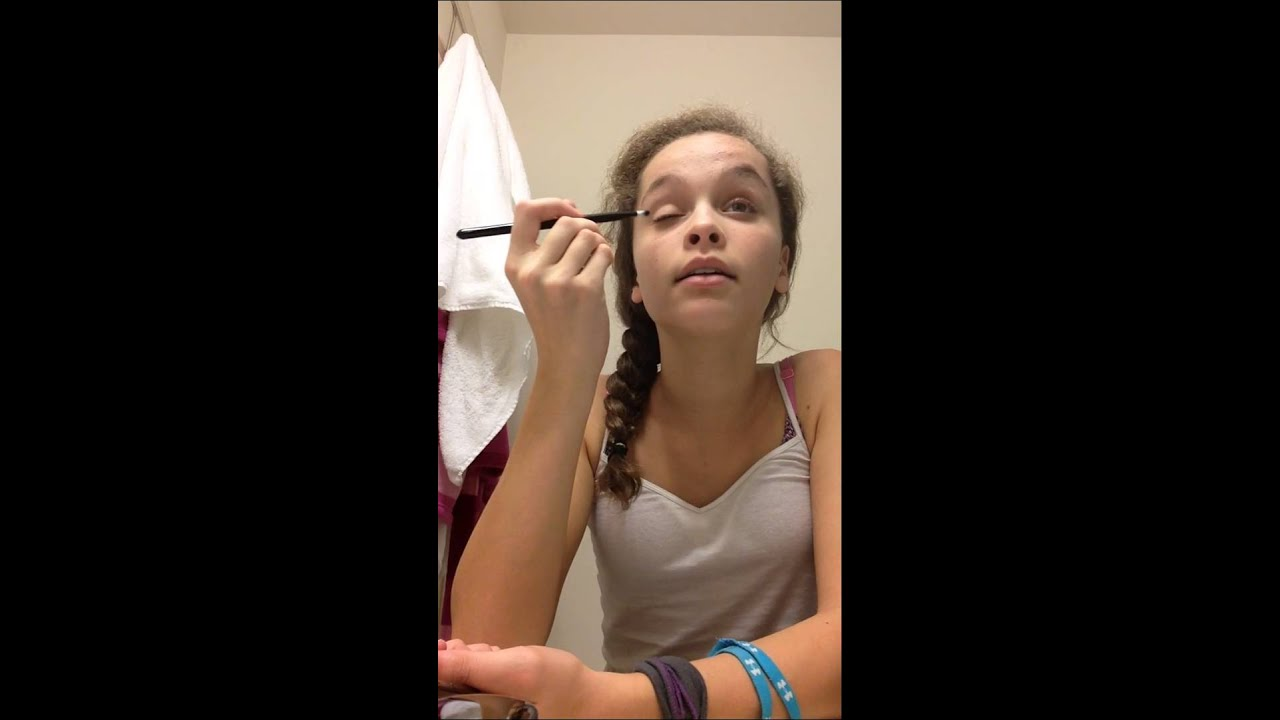Everyday Makeup Fail.