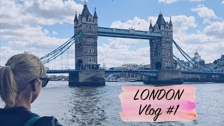 LONDON VLOG #1 - City Sightseeing