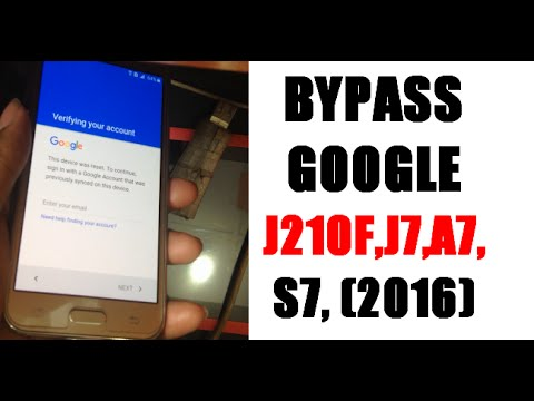 How To Samsung Galaxy A3, A5, A7, J1, J2, J3, J5, J7, S5, Note, Tab  Google Account bypass 100% Solution