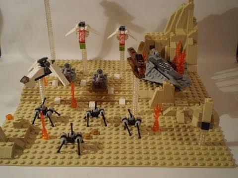 Lego star wars battle of geonosis mini moc youtube - Croiseur interstellaire star wars lego ...