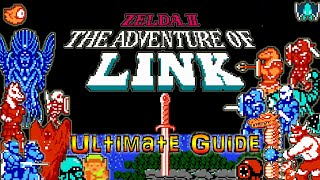 #Zelda2 #Zelda #NES Zelda 2 The Adventure of Link NES  - Ultimate Walkthrough / Beginners Guide