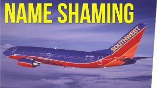 Southwest Airlines Employee Shames Girl...