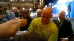 Michael van Gerwen European Darts Open 2013 , Champion in Duesseldorf