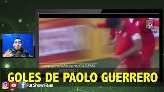 Mexicano reacciona a los mejores goles de Paolo Guerrero