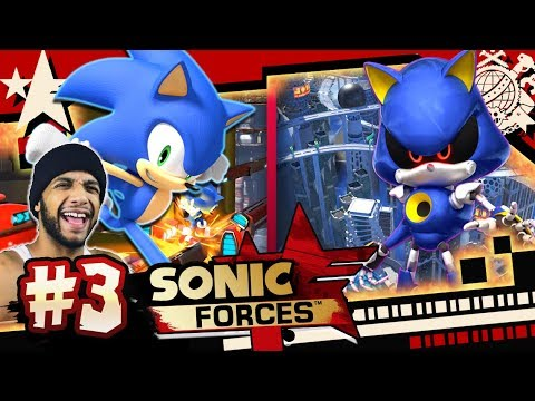 Sonic Forces (PC 4K 60FPS) Part 3 Metropolis, Metal Sonic, & Infinite HARD MODE