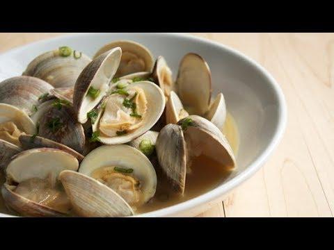 Buttery Garlic Clams Recipe