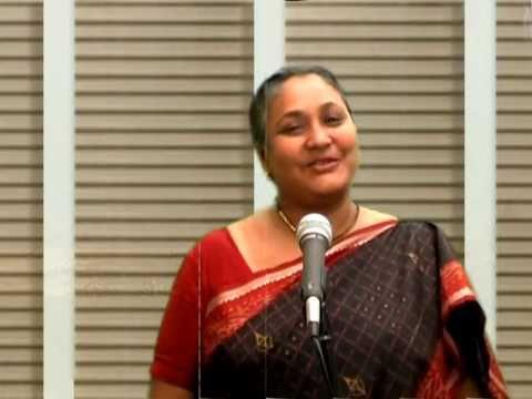 """""""Annai Thanthai"""" sung by Meghala Ratnaiya"""
