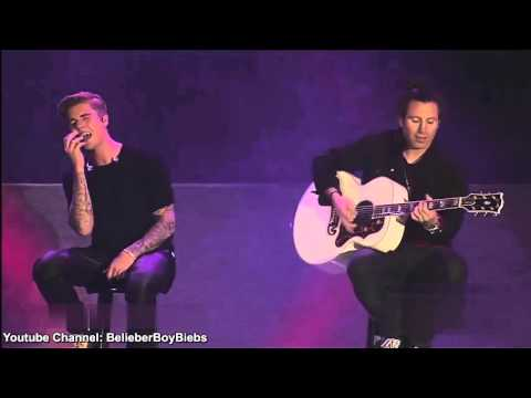 Justin Bieber   All That Matters Acoustic   Live at Wango Tango   High Definition 60FPS