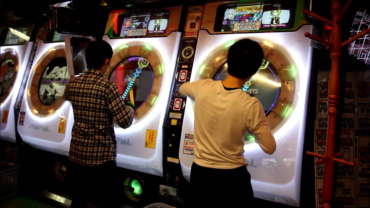 Japanese Arcade Rhythm Games YouTube