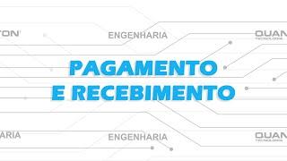 Pagamento e recebimento - Caixa Registradora Quanton BR-1010G