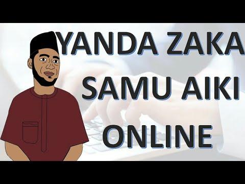 Download Hanyar Da zaka samu aiki online kuma kana samun kudi da yawa.