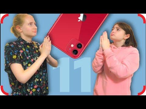 На что готовы бедные дети ради нового IPhone 11 Pro?