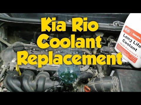 How to Replace Coolant | Paano mag Palit ng Coolant sa Kia Rio | Pag Remove ng  Air pocket sa Kia