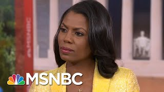 Omarosa Manigault: President Trump 'Certainly' Hated Barack Obama For His Race | Hardball | MSNBC