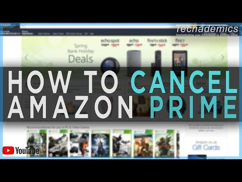 How to cancel my amazon prime student trial