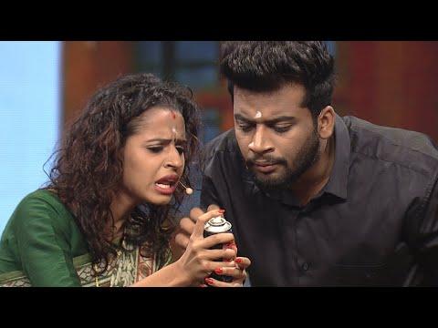 NayikaNayakan I Meenakshi & Shambhu in Mazha Peyyunnu Maddalam Kottunnu round I Mazhavil Manorama