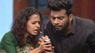 #NayikaNayakan I Meenakshi & Shambhu in Mazha Peyyunnu Maddalam Kottunnu round I Mazhavil Manorama