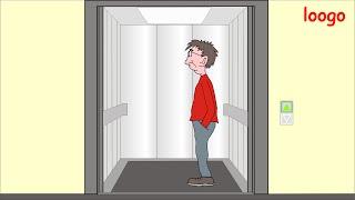 loogo: Im Aufzug