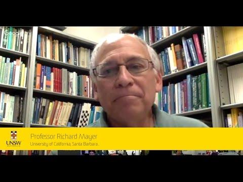 Virtual Seminar - Professor Richard Mayer talking with Professor John Sweller