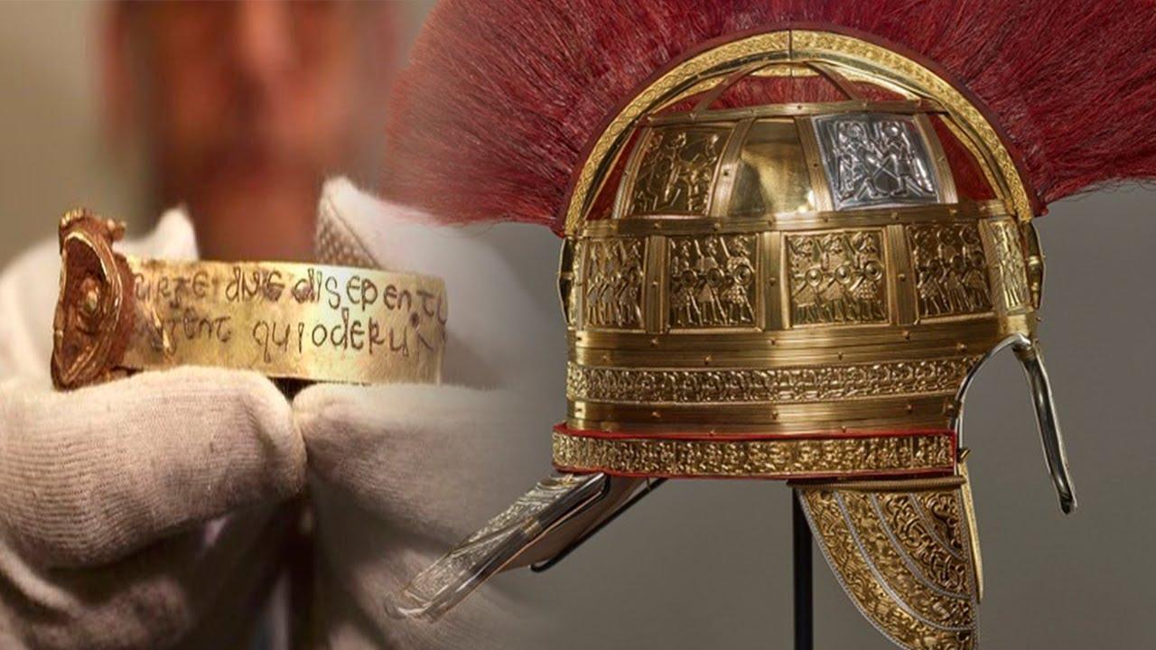 Sondengänger Findet Den Größten Schatz Der Angelsachsen