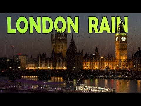 🎧 London City Rain Sounds | Ambient Noise to Fall Asleep Fast! Or Studying, @Ultizzz day#34