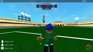 HOW TO BE A GOALKEEPER AT ROBLOX BEST IN THE WORLD