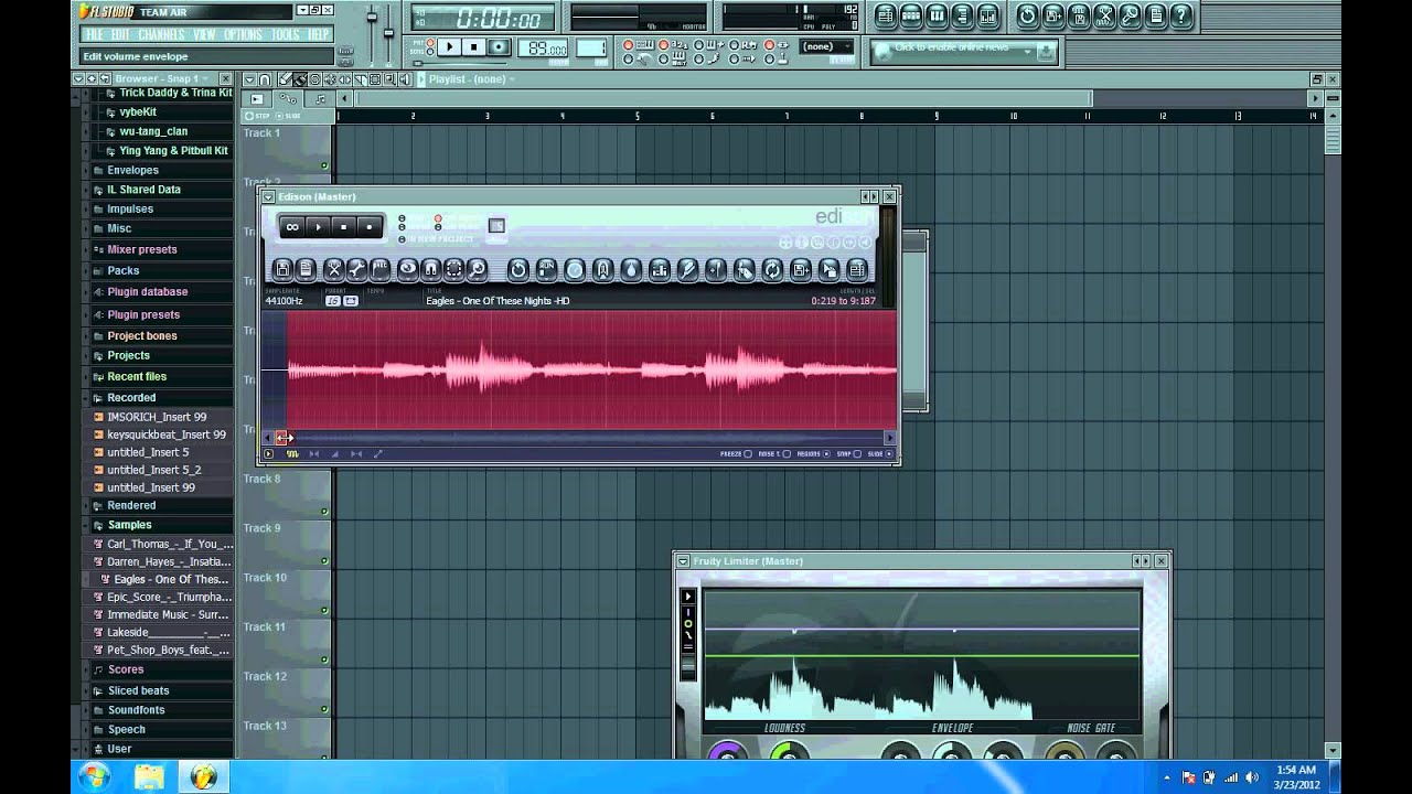 FL STUDIO 11 - SAMPLING TUTORIAL - QUICK AND EASY - YouTube