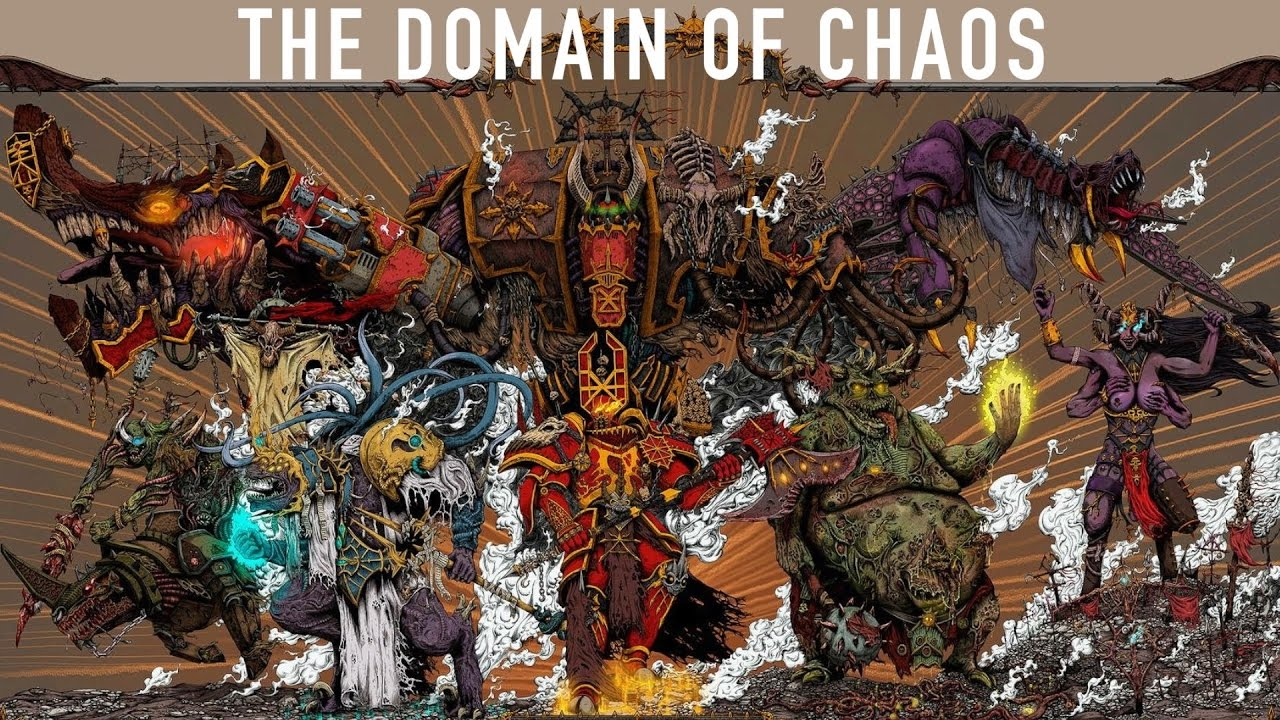 40 Facts Lore on the Realms of the Chaos Gods WarhammerWarhammer 40k Chaos Gods