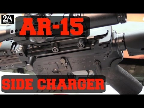 AR 15 side charging handle by Devil Dog Concepts