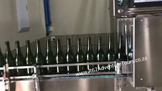 Wine bottling at Springfield Winery